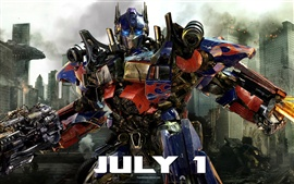Preview wallpaper Optimus Prime Transformers 3