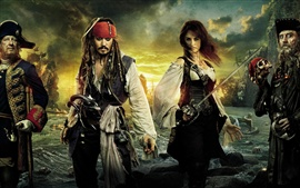 Preview wallpaper Pirates of the Caribbean On Stranger Tides HD