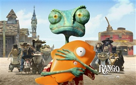 Preview wallpaper Rango 2011