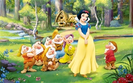 Preview wallpaper Snow White and the Seven Dwarfs