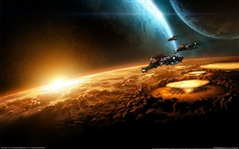 Preview wallpaper Space in StarCraft II