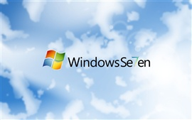 Windows7 Sete fundos Nuvens