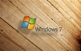 Preview wallpaper Windows7 wood background
