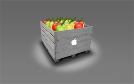 Preview wallpaper Apple box