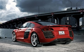 Preview wallpaper Audi R8 red