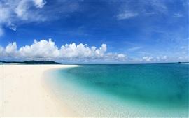 Пляж береговой линии