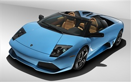 Preview wallpaper Blue Lamborghini Murcielago