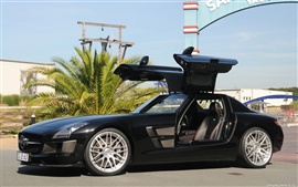 Preview wallpaper Brabus Mercedes-Benz SLS AMG 2010