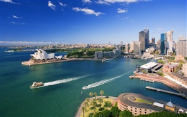 Preview wallpaper Downtown Sydney and Waterfront