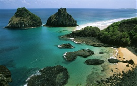 Preview wallpaper Fernando de Noronha Archipelago in Brazil