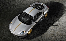 Preview wallpaper Ferrari silver car