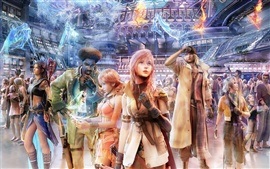 Final Fantasy 13 de pantalla ancha