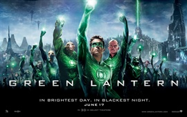 Preview wallpaper Green Lantern HD