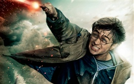 Preview wallpaper Harry in HP7 part 2