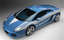 Preview wallpaper Lamborghini police car