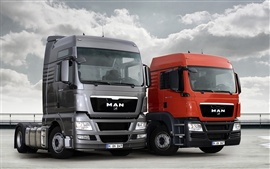 Preview wallpaper MAN 20TGX and 20TGS Trucks