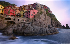 Preview wallpaper Manarola Italy