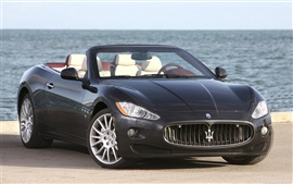 Preview wallpaper Maserati GranCabrio 2010