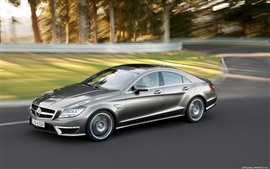 Preview wallpaper Mercedes Benz CLS63 AMG 2010