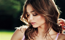 Preview wallpaper Miranda Kerr 01