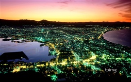 Preview wallpaper Night of Hakodate in Japan