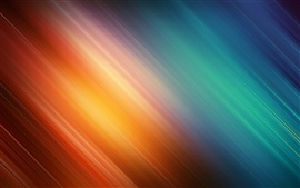 Orange and blue twill background
