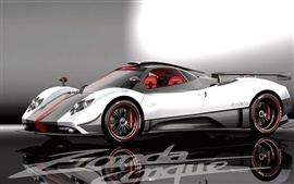 Preview wallpaper Pagani Zonda Cinque