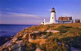 Preview wallpaper Pemaquid Lighthouse and Cliffs