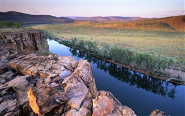 Preview wallpaper Pentecost River on Kimberley Plateau