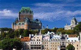 Preview wallpaper Quebec City Canada