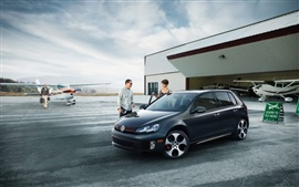 Preview wallpaper Volkswagen Golf VI GTI