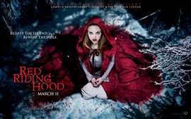 Preview wallpaper Amanda Seyfried in Red Riding Hood