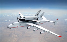 Preview wallpaper An-225 Mriya plane in sky