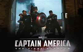Aperçu fond d'écran Captain America: The First Avenger HD