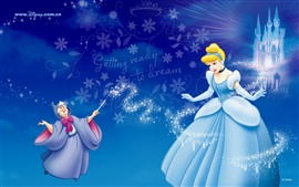 Preview wallpaper Cinderella and the Magic