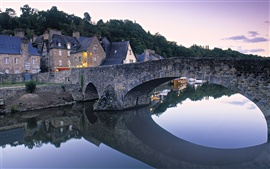 Preview wallpaper Dinan, Brittany, France