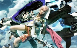 Preview wallpaper Final Fantasy XIII game characters