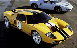 Ford GT Supercar old and new
