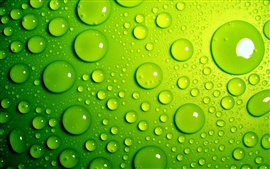 Preview wallpaper Green drops