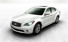 Preview wallpaper Infiniti M35 Hybrid 2012