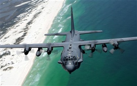 Preview wallpaper Lockheed AC-130H Spectre aircraft