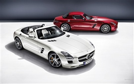 Preview wallpaper Mercedes-Benz SLS