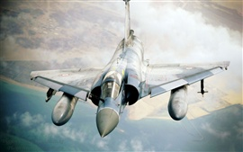 Mirage fighter flying cloud Wallpapers Pictures Photos Images