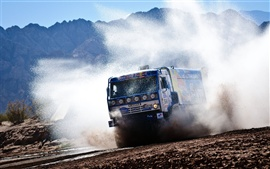 Preview wallpaper Red Bull KAMAZ truck