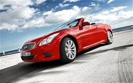 Preview wallpaper Red Infiniti car