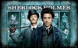 Aperçu fond d'écran Sherlock Holmes