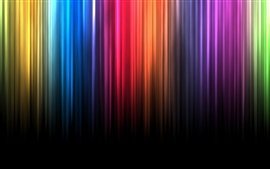 Spectrum bands of color lines