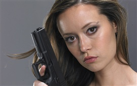 Preview wallpaper Summer Glau 01