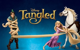 Preview wallpaper Tangled