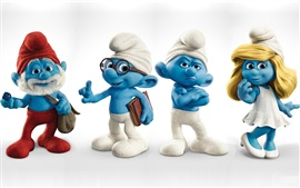 Preview wallpaper The Smurfs HD